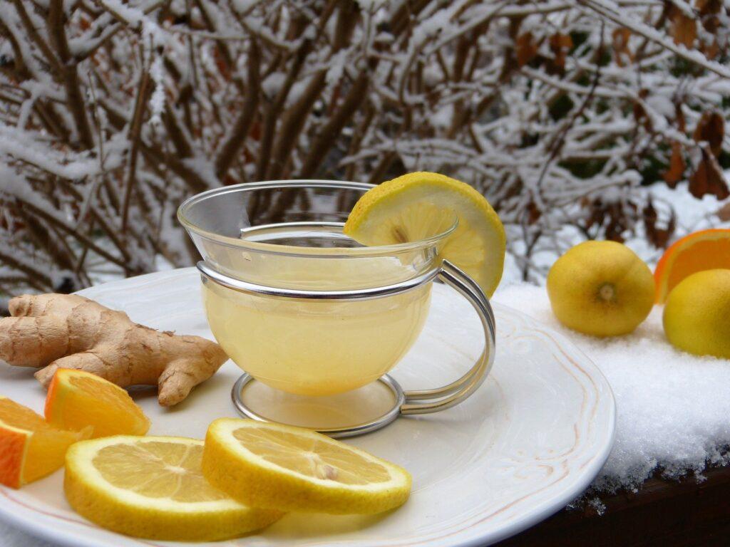 Afvallen met citroen en gember